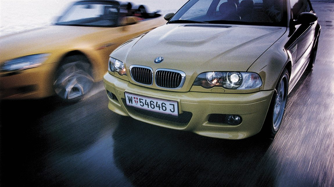 BMW M3: Let the good times roll