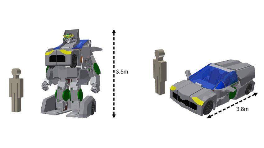 "Japanische Techniker bauen ""echten Transformer"""