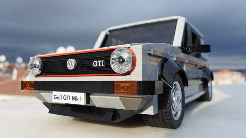 Der Golf I GTI in Lego ist eine fantastische Idee