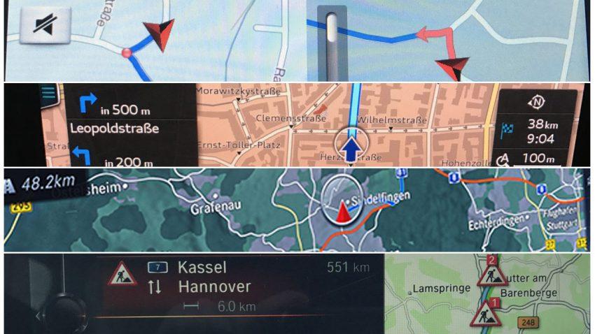 4 Navigations- und Infotainmentsysteme im Vergleich