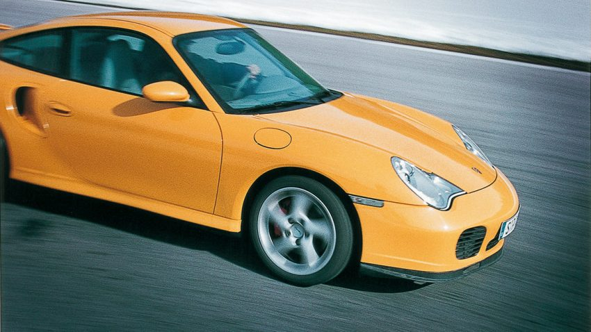 Porsche 911 turbo: Der Luftgänger