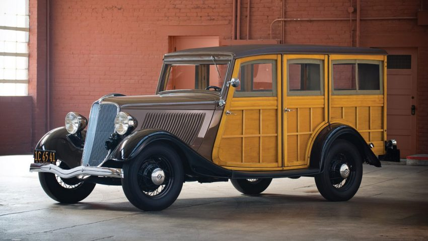 1933 Ford V8 Station Wagon
