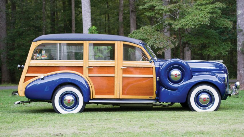 1940 Pontiac Special Six Station Wagon