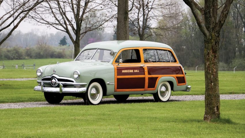 1950 Ford V8 Custom DeLuxe Station Wagon