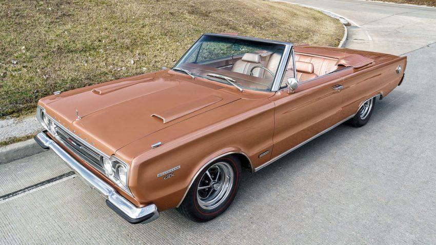 1967 Plymouth GTX Convertible