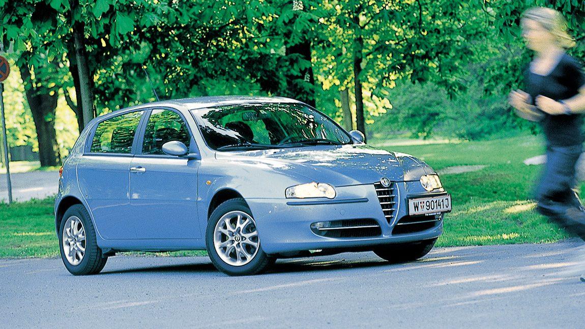 Alfa Romeo 147 1 9 Jtd  F U00fcnft U00fcrenfaust
