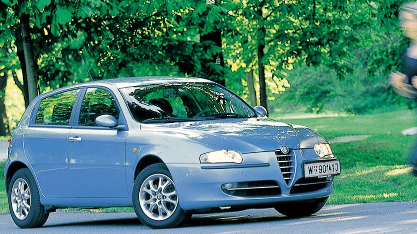 Alfa Romeo 147 1,9 JTD: Fünftürenfaust