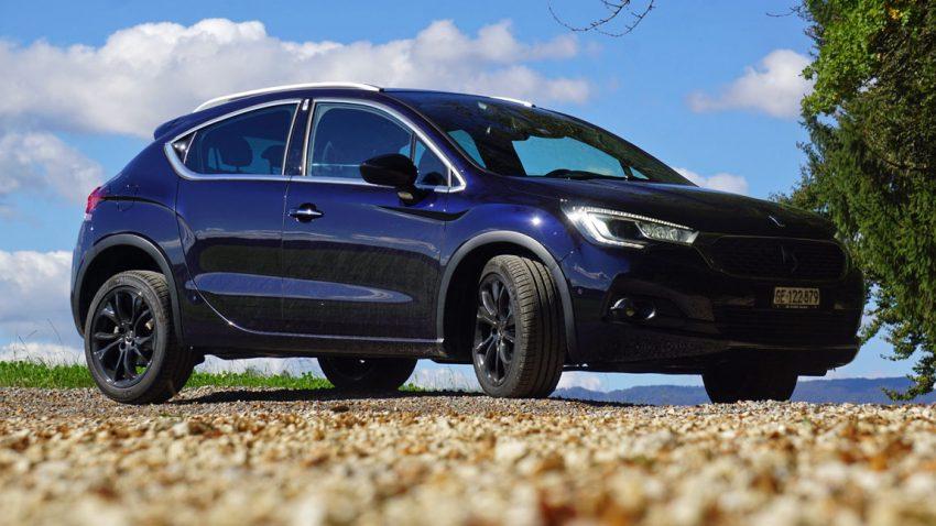 DS 4 Crossback: Viel Premium, bissi SUV