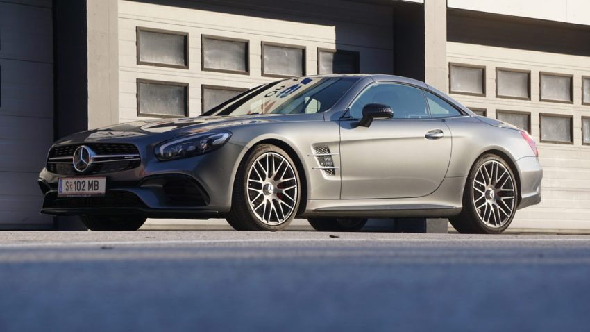 Supertest 2016: Mercedes AMG SL63
