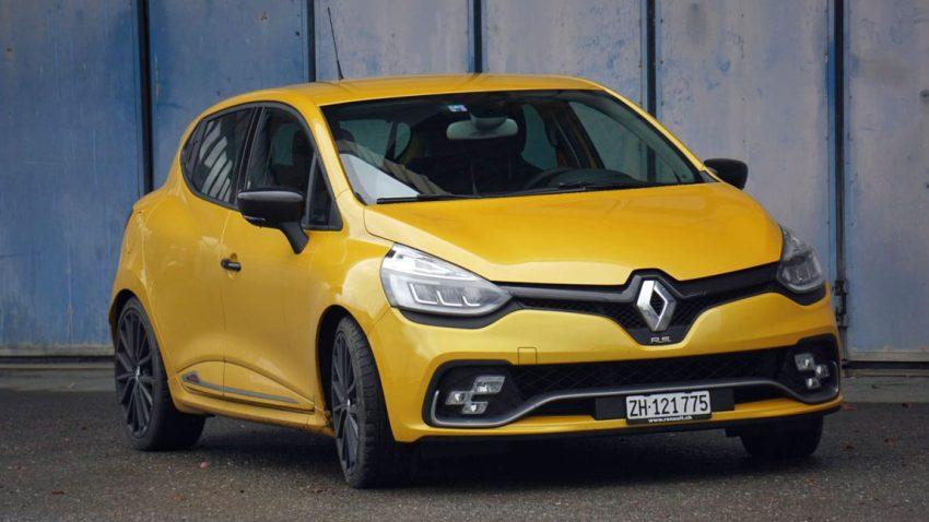 Renault Clio R.S. 220 Trophy: Auf den Berg paddeln
