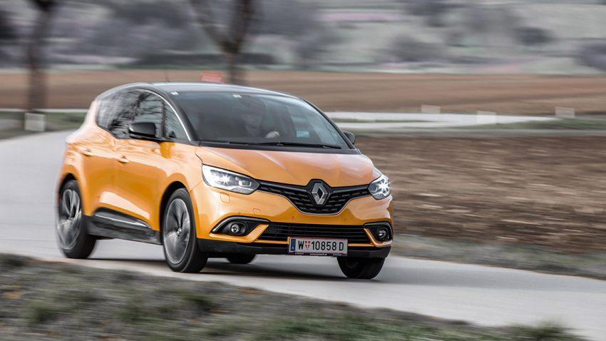 Renault Scénic: Nicht nur eine Frage der Schuhe