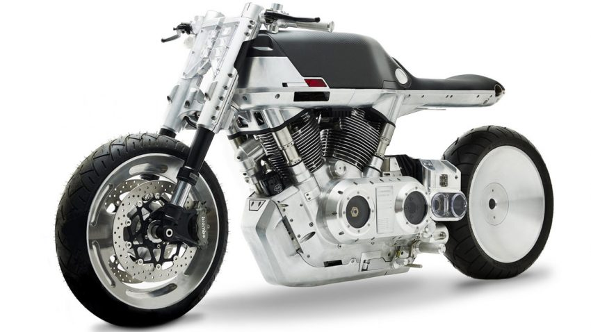 Vanguard Roadster: Fantastisch technoides Design