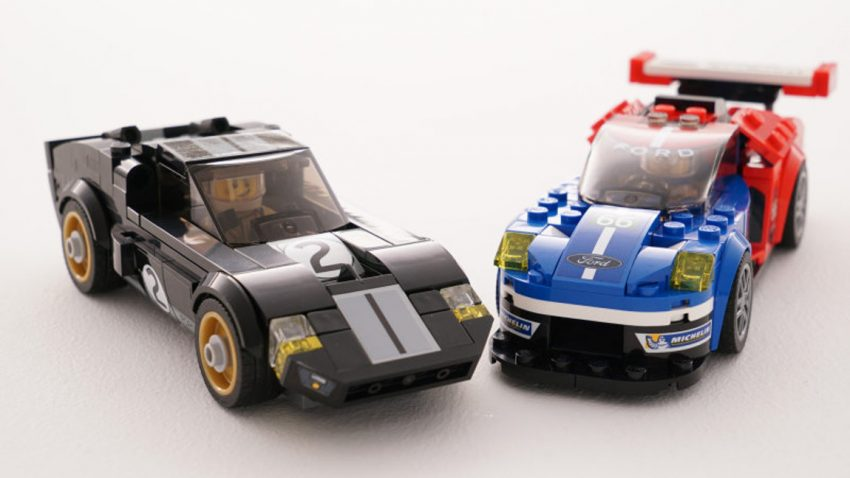 Le Mans-Legenden in der Lego-Version