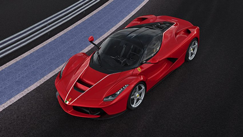 laferrari-charity