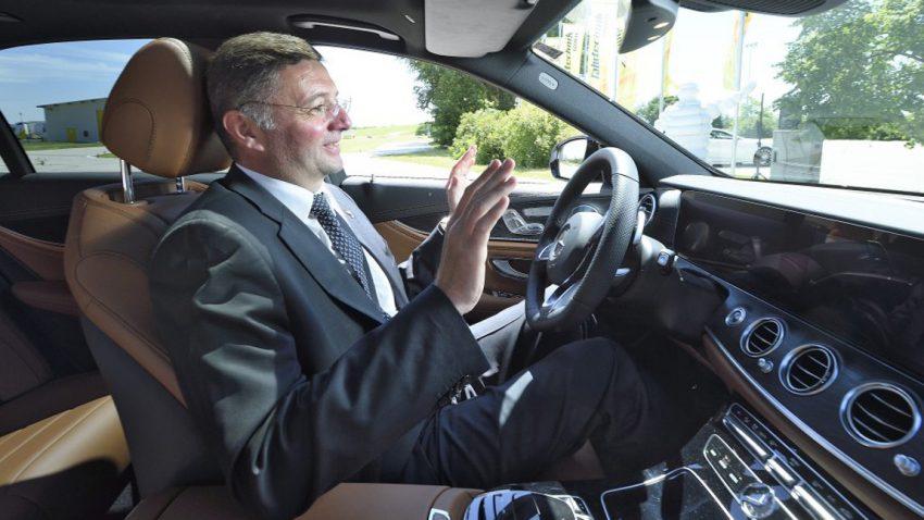 Selbstfahrende Autos: Erste Testfahrten auf österreichischer Autobahn absolviert