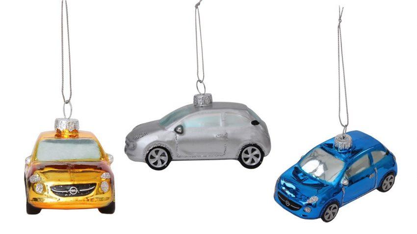 Opel Adam für den Weihnachtsbaum