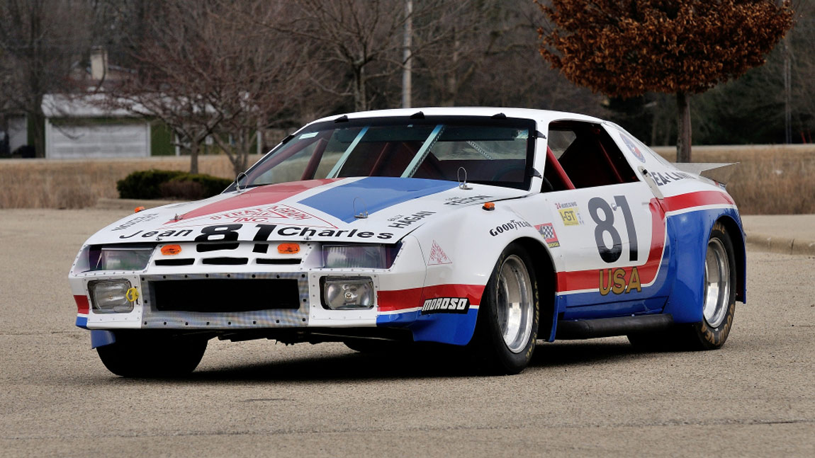 1982 chevrolet camaro le mans race car for Garage automobile le mans