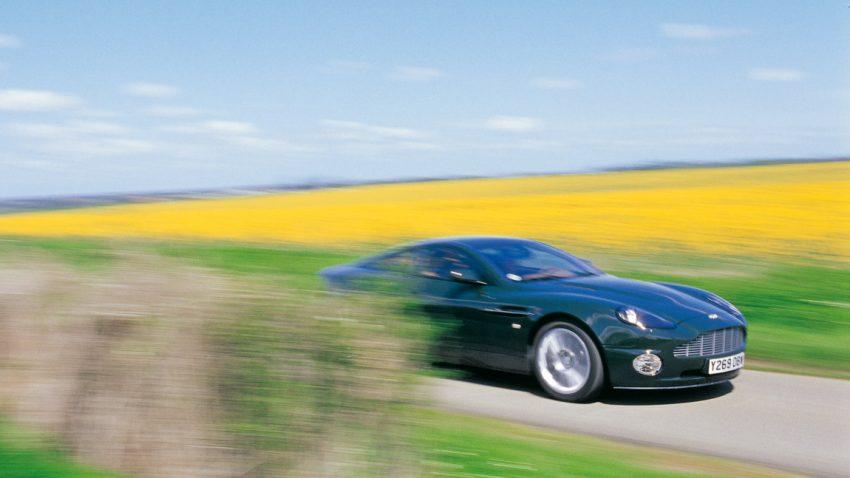 Aston Martin Vanquish: Im Jet Stream der Moderne