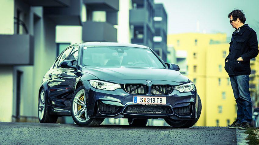 BMW M3 30 Jahre: Fehlfarben