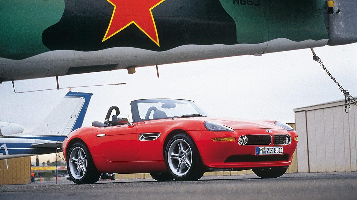 BMW Z8 Roadster: Arithmetik auf der Emo-Schiene