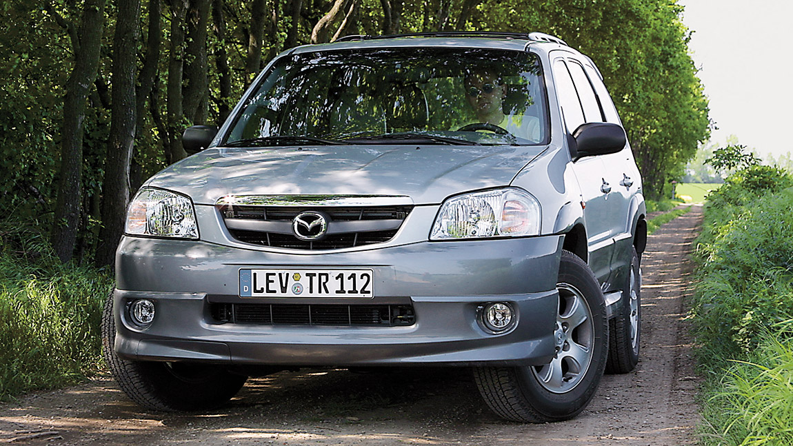 mazda tribute 3 0i v6 4x4 hochsitz v6 autorevue. Black Bedroom Furniture Sets. Home Design Ideas