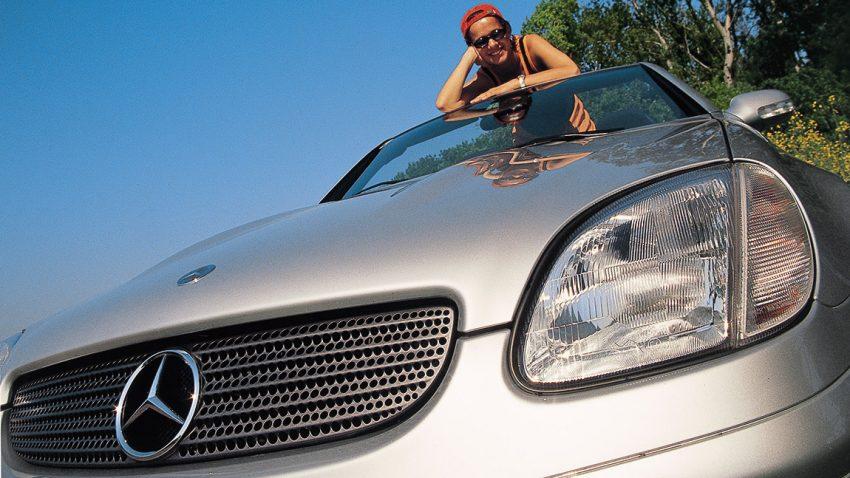 Mercedes SLK 320: Sechs ist besser