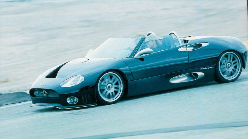 Spyker C8 Spyder: Ein Traum von einem Auto