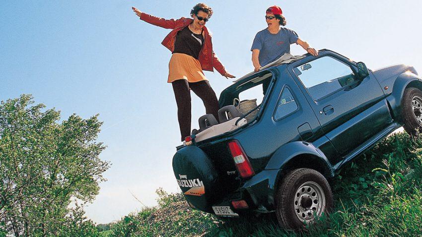 Suzuki Jimny Cabrio: Hip Hopster