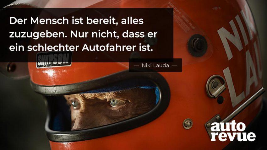 Best of Zitate: 13 unvergessliche Sprüche von Niki Lauda