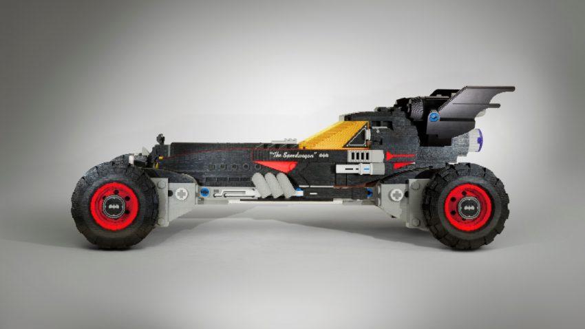 Chevrolet präsentiert lebensgroßes LEGO-Batmobil