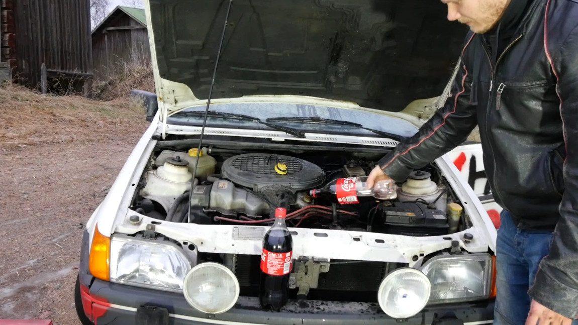 Coca-Cola statt Motoröl?