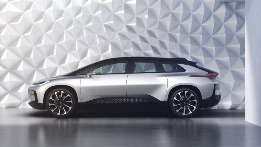 Mit dem FF 91 will Faraday Future die Mobilität neu erfinden