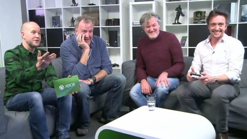 Clarkson, Hammond und May spielen Forza Horizon 3