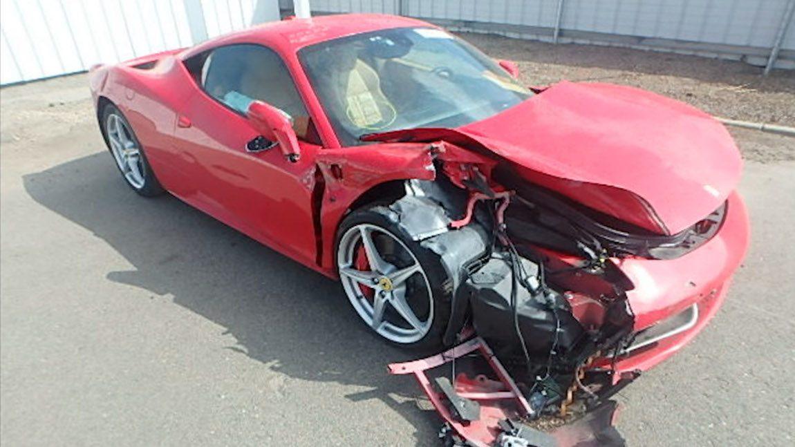 Dieser Ferrari 458 ist kein Mietauto mehr