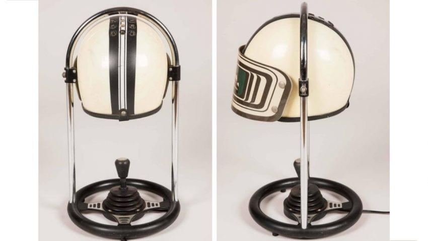 Einzelstück: Helm für die Glühbirne