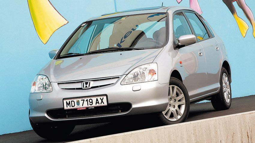 Honda Civic 1,6i ES: Licht und Luft