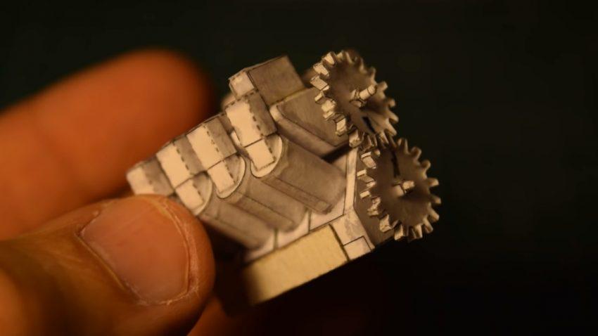 Die faszinierenden Mini-Motoren aus Papier