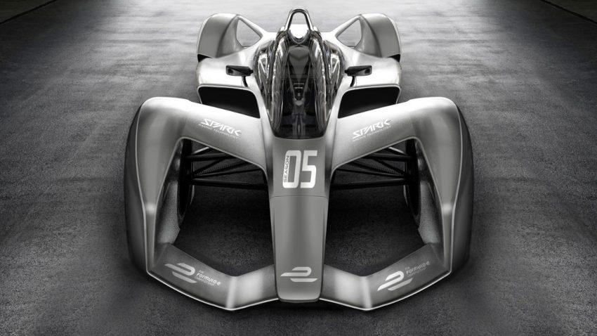 So futuristisch sehen die Formel E-Autos für 2018 aus