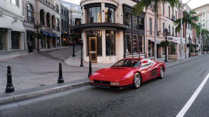"1986 Ferrari Testarossa: Der ""Flying Mirror"""