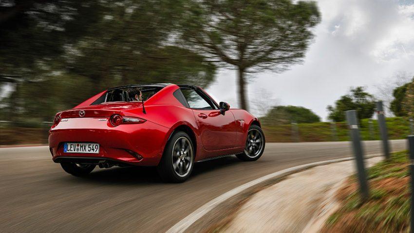 Mazda MX-5 RF: Inklusion