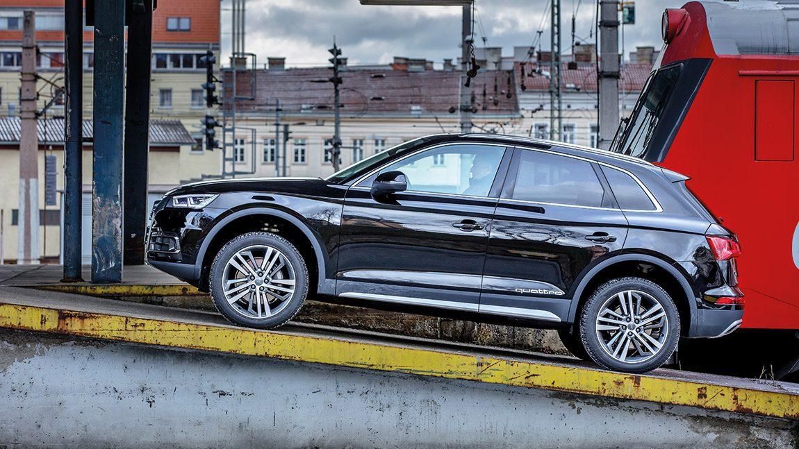 Audi Q5 TDI Quattro: Prof. Prädiktiv
