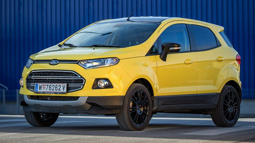 Ford Ecosport 1,0 EcoBoost Titanium S: Leistungsschau