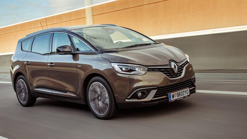 Renault Grand Scénic: Handschublade!