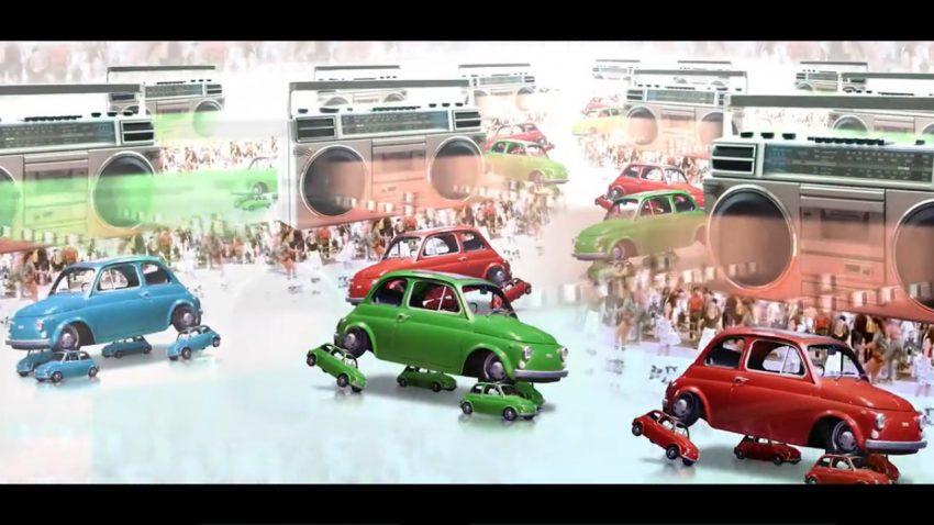 Fiat feiert 60 Jahre 500 mit Video-Wahnsinn