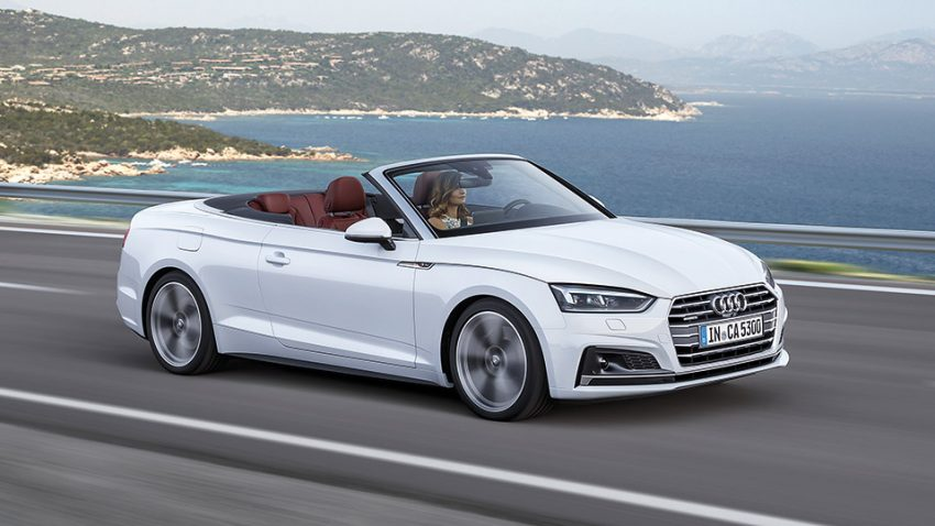 Audi A5/S5 Cabriolet: Cool at Heart
