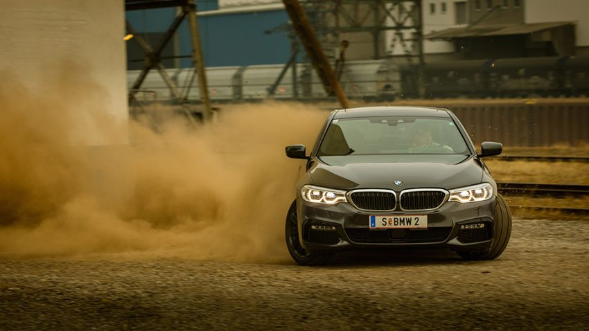 BMW 540i xDrive: Will selber fahren