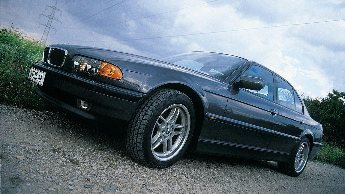 BMW 740d: Oh, it's a D