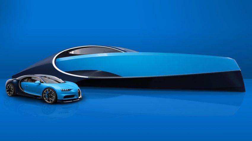 Diese Yacht ist das perfekte Accessoire für euren Bugatti Chiron