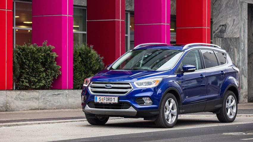 Ford Kuga 2,0 TDCi AT AWD Titanium: Großmaul