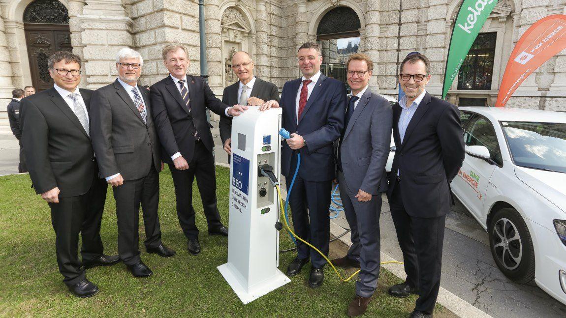 Österreichweites Ladenetz ÖHUB für E-Fahrzeuge startet
